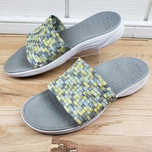 Vionic Serene Kitts Charcoal Comfort Sandal Slide